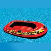"""Надувная лодка Intex """"Explorer pro 100"""", 58355 до 80 кг (160*94*29 см)"""
