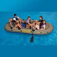 """Надувная лодка Intex """"Excursion 5"""", 68325 (насос, весла)"""