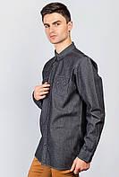 Рубашка темный цвет 641K007 (Грифельный)