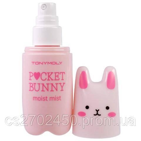 Компактный увлажняющий освежающий спрей для лица Tony Moly Pocket Bunny