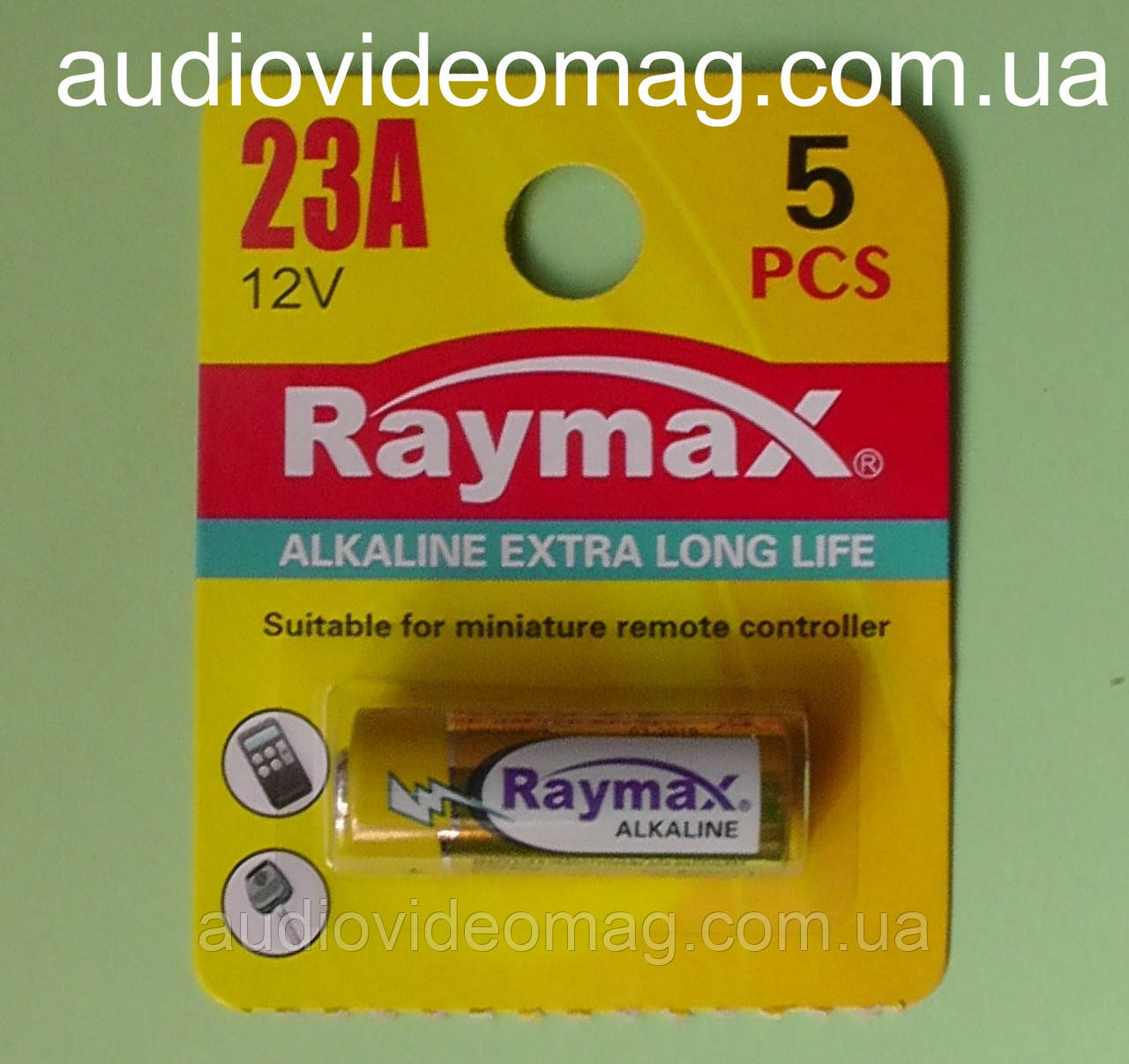 Батарейка Raymax 23AE 12V Alkaline щелочная