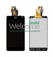Дисплей LG E971 Optimus G/E970/E973/E975/E976/E977/LS970 black touchscreen orig