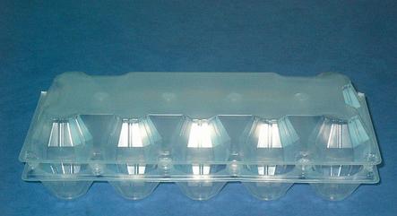 Пластиковая упаковка для яиц 10шт  код ПС-3610, фото 2