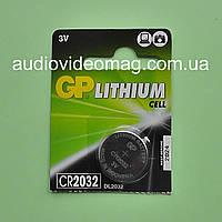 Батарейка литиевая GP CR2032 Lithium 3V