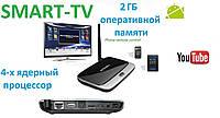 Приставка Smart TV Android TV BOX CS918 2GB ОЗУ Смарт ТВ 16гб