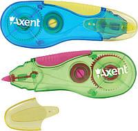 Корректор ленточный (Axent, 5 мм х 5 м, сине-желтый, 7006-01-А)