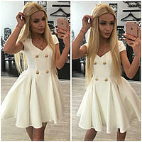 Платье барби на пуговицах с юбкой фатином размер 42-60, фото 1