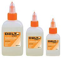 Клей силикатный, канцелярский (Delta by Axent, 100 мл., колпачек-дозатор, D7222)