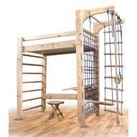 Кровать-чердак 3 в 1: кровать, парта, спорткомплекс