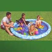 """Надувной детский игровой центр - басейн Intex, 57448 """"Морской пейзаж"""""""