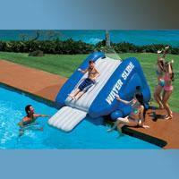 Надувной детский игровой центр - водная горка Intex, 58851 (302*206*135 см)