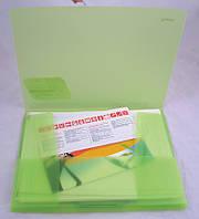 Папка на резинках Axent А4 ассорти прозрачных цветов 1501-10-А