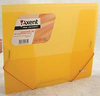 Папка на резинках (Axent, В5, оранжевая, прозрачная, 1505-25-А)