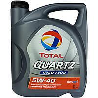Автомобильное моторное масло TOTAL QUARTZ INEO MC3 5W-40 5л
