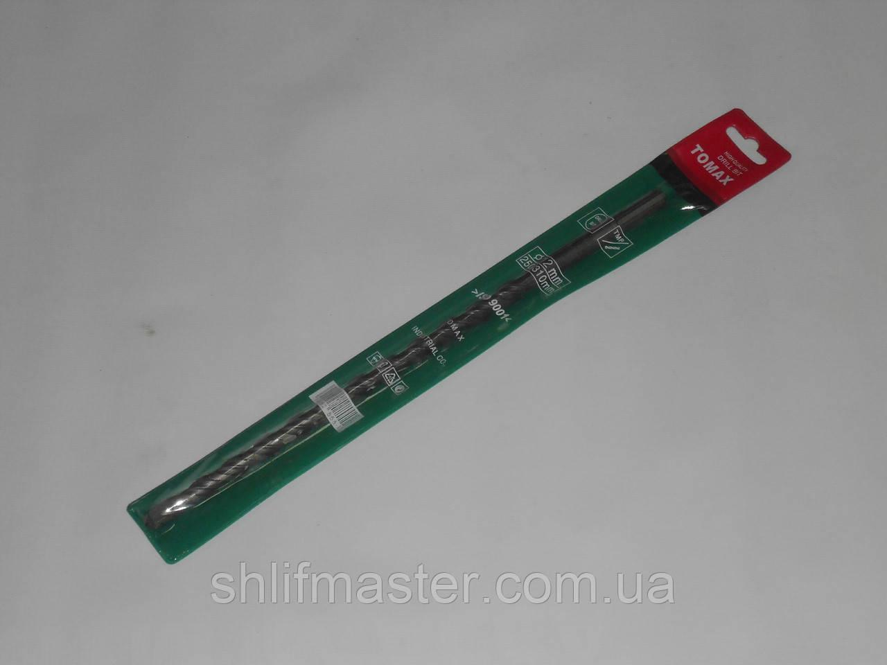 Бур (сверло) по бетону SDS plus Tomax 13х210 мм