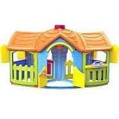 Пластиковый детский двухкомнатный домик M1202 (666)