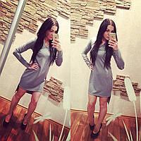 Платье вырез мысиком ,спинка длиннее переда, фото 1