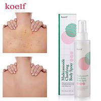 Очищающий спрей для тела c мадекассосидом Koelf Madecassoside Clarifying Body Spray 150ml
