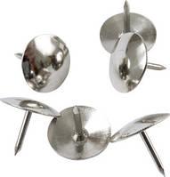 Кнопки канцелярские (Axent, никелированные, 50 шт., 4201-А)