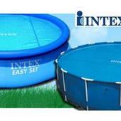 Солярный тент Intex 29024 для круглого бассейна 470 см с эффектом антиохлаждение