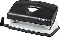 Дырокол Axent 10 л Exakt матал черный 3910-01-А