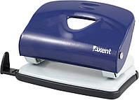 Дырокол Axent 10 л Exakt матал синий 3910-02-А