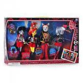 Набор кукол Monster High Монстер Хай 4 шт (аналог)