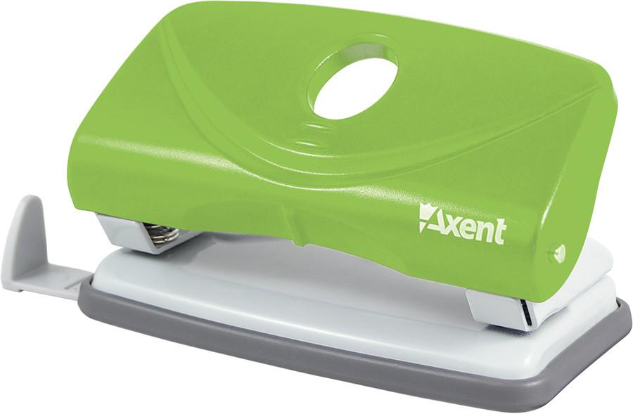 Дырокол Axent 10 л Welle пластик синий 3810-02-А