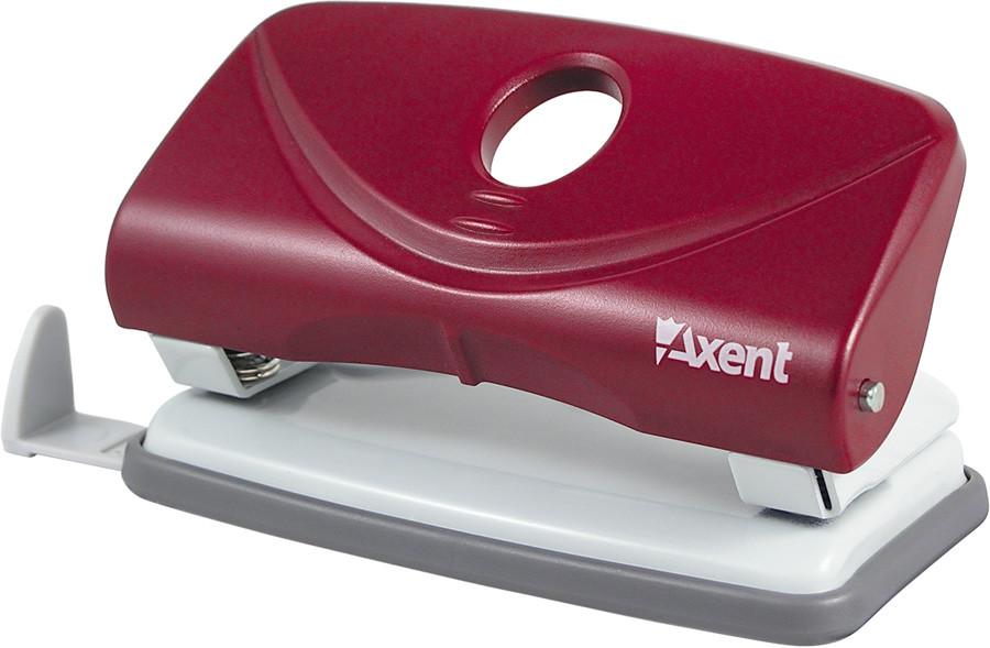 Дырокол Axent 10 л Welle пластик красный 3810-06-А