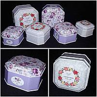 Красочная коробочка для подарков, металл, 6х4.5 см., 40 гр., фото 1
