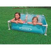 Детский каркасный бассейн Intex 57173 (122-122-30 см, голубой)