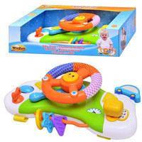 Детская игрушка Winfun 0704 NL Руль с креплением к коляске
