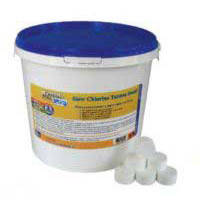 Таблетки Crystal Pool Slow Chlorine Tablets Small 2301, 1 кг, фото 2