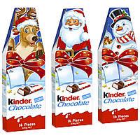 Новогодний набор шоколадок Киндер Kinder Chocolate Германия 200 г, фото 1