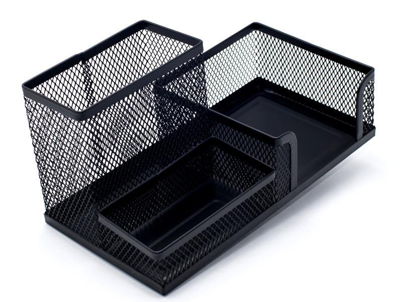 Подставка органайзер Axent 203x105x100мм метал черная 2116-01-A