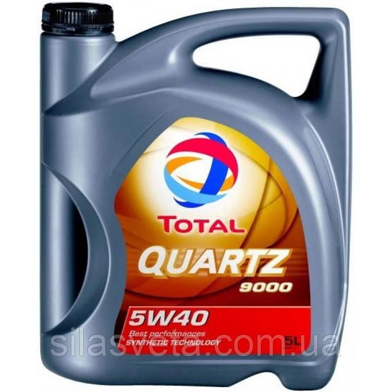 Автомобильное моторное масло TOTAL QUARTZ 9000 ENERGY 5W40 5л