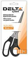 Ножницы Axent 18 см канцелярские черные D6211
