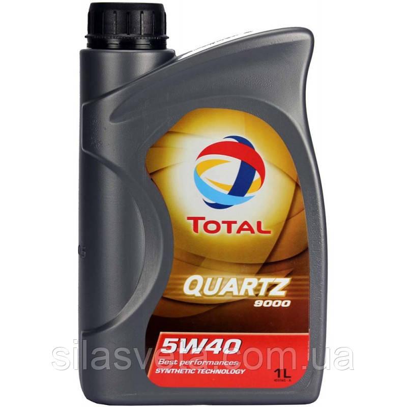 Автомобильное моторное масло TOTAL QUARTZ 9000 ENERGY 5W40 1л