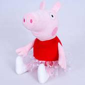 Мягкая игрушка Свинка Пеппа балерина из м/с (28 см, Копиця 00098-9)