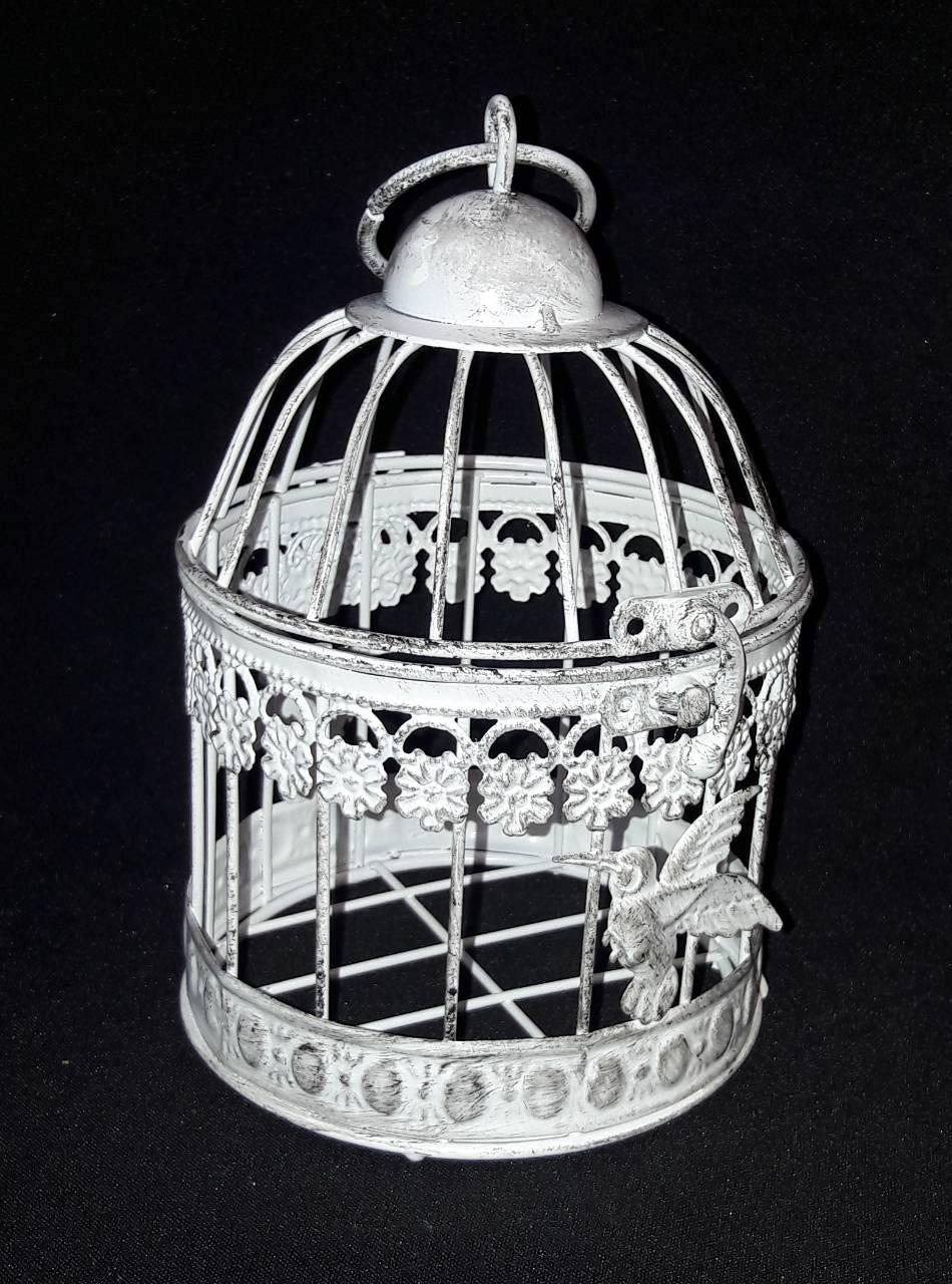 a382bb585867d Декоративная клетка из металла для птичек, диам. 12 см., выс. 19 см ...