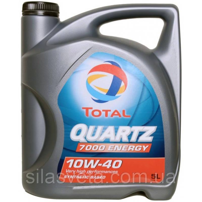 Автомобильное моторное масло TOTAL QUARTZ 7000 ENERGY 10W40 5л