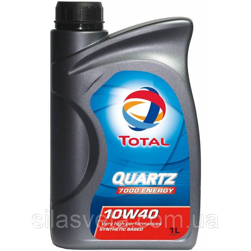 Автомобильное моторное масло TOTAL QUARTZ 7000 ENERGY 10W40 1л
