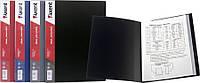 Папка с файлами (Дисплей-книга, Axent, А4, 10 файлов, черная, 1010-01-А)