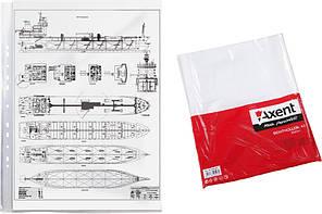 Файл Axent А3 глянцевий 40мкм 100шт 2003-00-А