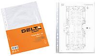 Файл матовый (Delta by Axent, А4+, Бюджет, 100шт, D1002)