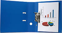 Папка регистратор,  5см (Prestige, Axent, А4, двухстор. покр, РР, черная, 1711-01C-А)