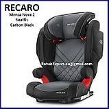 Комфортное Безопасное Автокресло Recaro Monza Nova 2 Seatfix Seat 15-36kg, фото 4