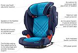 Комфортное Безопасное Автокресло Recaro Monza Nova 2 Seatfix Seat 15-36kg, фото 2