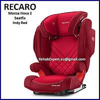 Комфортное Безопасное Автокресло Recaro Monza Nova 2 Seatfix Seat 15-36kg