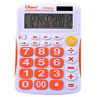 Стильный настольный калькулятор kenko kk-9136, красочный дизайн, 12-разрядный дисплей с подсветкой, память